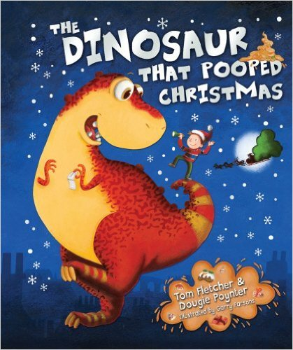 the dinosaur that pooped christmas いかにもイギリスっぽい悪ふざけが